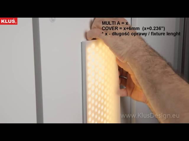 Алюминиевый профиль Klus Multi-A-2000-Anod [154x30mm, нижняя часть] Артикул: 39423