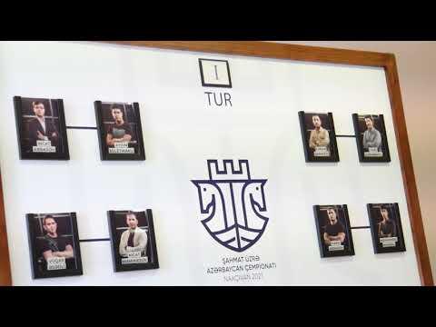 Şahmat üzrə Azərbaycan çempionatı- Naxçıvan 2021 (1-ci turdan video icmal) 1