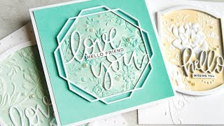 Creative Uses Of Embossing Folders