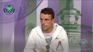 Roberto Bautista Agut Semi-Final Press Conference Wimbledon 2019