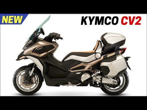 NEW 2018 Kymco CV2 Concept C Series – Adventure Tourer Scooters