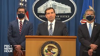 WATCH LIVE: Department of Justice holds news conference on national security