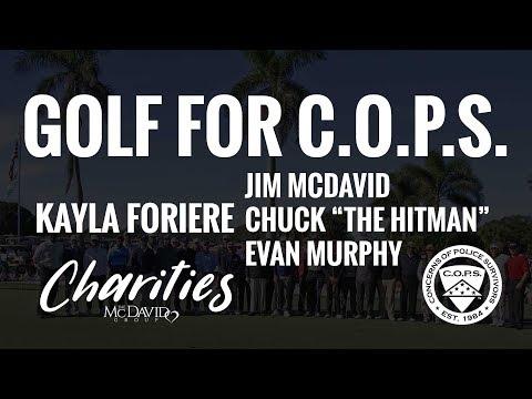 "Interview Golf for C.O.P.S. 2017 - Jim McDavid, Chuck ""The Hitman""  and Evan Murphy ""The Murph"""