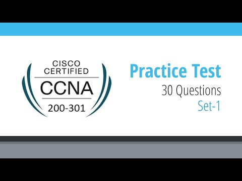 Cisco CCNA 200-301 Practice Questions and Answers | 200-301 ...