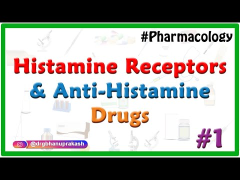 Pharmacology of Histamine , Histamine receptors and Anti-histamine Drugs : Part 1