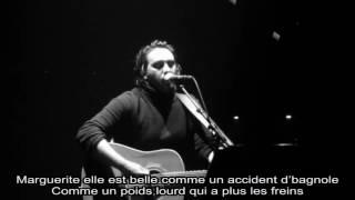 Saez   Marguerite   Live + Paroles