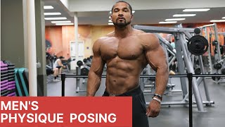 MENS PHYSIQUE POSING- HOW TO FOR BEGINNERS