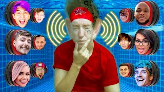 Underwater 100 YouTuber Mystery Buttons but Only One Lets You Escape...