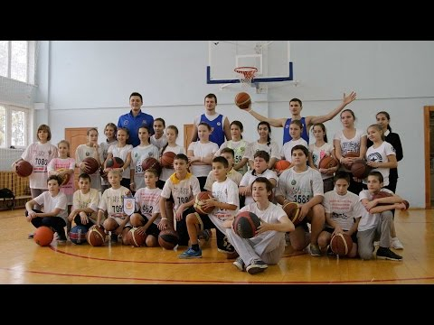 Баскетбол. Мастер-класс для самарских шестиклассников