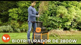 Biotriturador 2800W I BLACK+DECKER™ Trailer