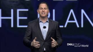 Dell EMC World Keynote: Michael Dell and next Industrial Revolution (Part 1)