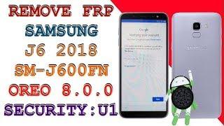 Samsung J6 (J600G) U3 Security FRP Lock Remove, Combination File