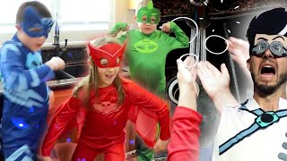 PJ Masks in Real Life: Stay Clean, Stay Super! | NEW Season 2 | PJ Masks Official