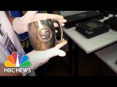 Disturbing Collection Of Nazi Artifacts Discovered In Secret Room | NBC News