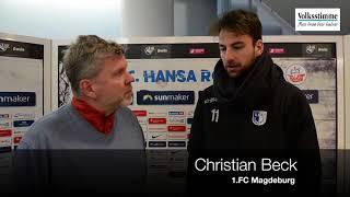 Christian Beck im Gespräch