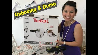 Unboxing Tefal Secure 5 Neo Pressure Cooker