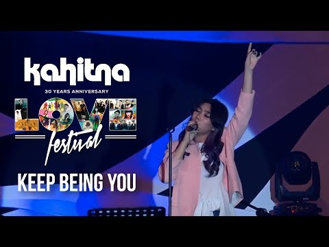 Isyana Sarasvati - Keep Being You | (Kahitna Love Festival) - Berlian Entertainment