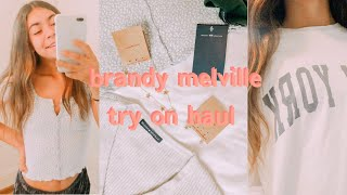 HUGE BRANDY MELVILLE TRY ON HAUL *IS IT WORTH YOUR MONEY??*