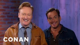 Conan OBrien Presents Team Coco Will Arnett playing ARMS on CluelessGamer is