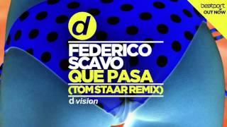 Federico Scavo   Que Pasa (Tom Staar Remix) [Cover Art]