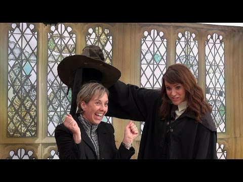 SORTING HAT – All 4 Houses – Gryffindor Hufflepuff Ravenclaw Slytherin – Celebration Of Harry Potter