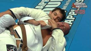 BJJ Match! Nolan Dutcher VS Seph Smith in Toronto at Grapplers Quest at UFC Fan Expo