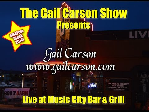 Gail Carson Highlights of her performance at The Music City Bar And Grill During CMAFest Week 2014