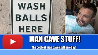 The Best Man Cave Decor Sold On EBay! Great Man Cave Ideas!