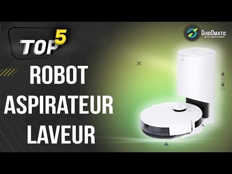 ⭐️ MEILLEUR ROBOT ASPIRATEUR LAVEUR (2021) - Comparatif & Guide d'achat