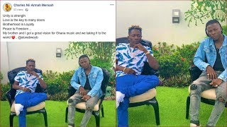 Break: Shatta Wale Finally makes Peace with Stonebwoy, 🇬🇭🇬🇭😍Forg!ve themselves..