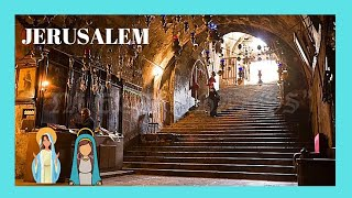 JERUSALEM: The rarely seen interior of the tomb of VIRGIN MARY (complete tour) 🙏🏻