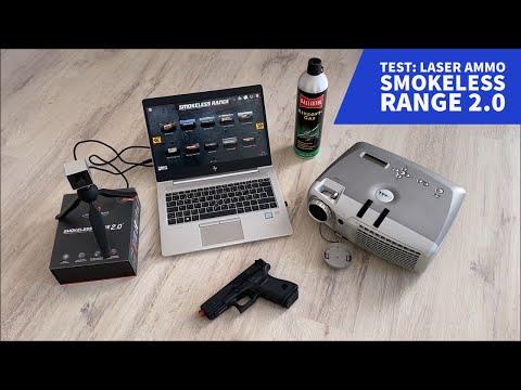 laser ammo: Test & Video: Laser Ammo Smokeless Range 2.0 – Unterhaltung und Trockentraining für Zuhause?