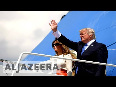 Trump wraps up first foreign trip as US president