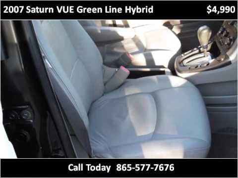 2007 Saturn VUE Green Line Hybrid Used Cars Knoxville TN