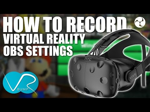 Streaming HTC VIVE with Streamlabs obs :: SteamVR General