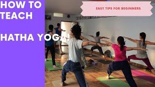How to Teach Yoga?
