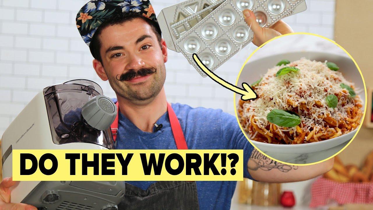 Professional Chef Reviews Pasta Gadgets thumbnail
