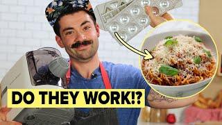 Professional Chef Reviews Pasta Gadgets