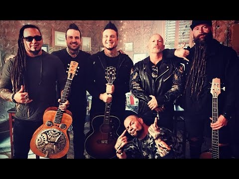 Five Finger Death Punch - Behind The Scenes - Blue On Black Video Shoot - Five Finger Death Punch