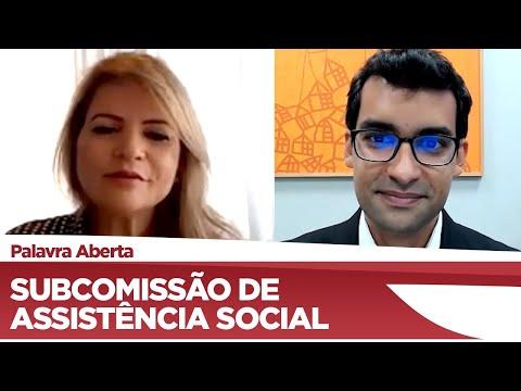 Flávia Morais vai presidir a Subcomissão de Assistência Social - 06/05/21