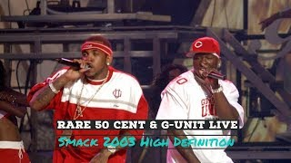 Rare 50 Cent & G-Unit Live | Smack 2003 High Definition