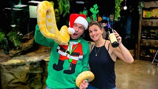 HUGE Christmas Eve REPTILE PARTY!! | BRIAN BARCZYK by Brian Barczyk