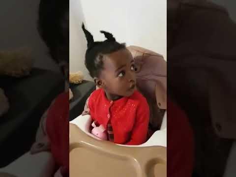 Shocking as 2 years old Ugochinyere singing praises to God.