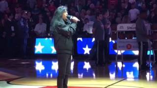 Anthrax Joey Belladonna Sings The National Anthem Chicago Bulls Game
