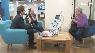 preview picture of video 'Chez Aldebaran avec les robots de demain (Grand Talk)'