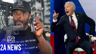 Joe Biden Says He Wants to Push to Ban 9mm Pistols