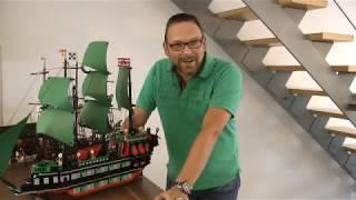 """Lego Piraten im Steinekeller - #3 Segelschiff """"Dragon"""""""