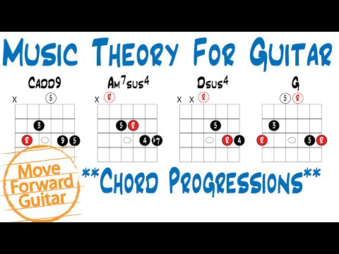 Music Theory for Guitar - Chord Progressions (More Chord Options)