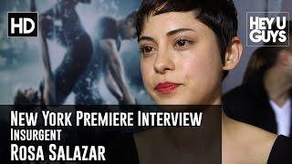 Rosa Salazar Interview - Insurgent New York Premiere