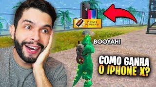GANHEI O IPHONE X GRÁTIS?!? MITEI NA ATUALIZAÇÃO DE ANIVERSÁRIO DO FREE FIRE!